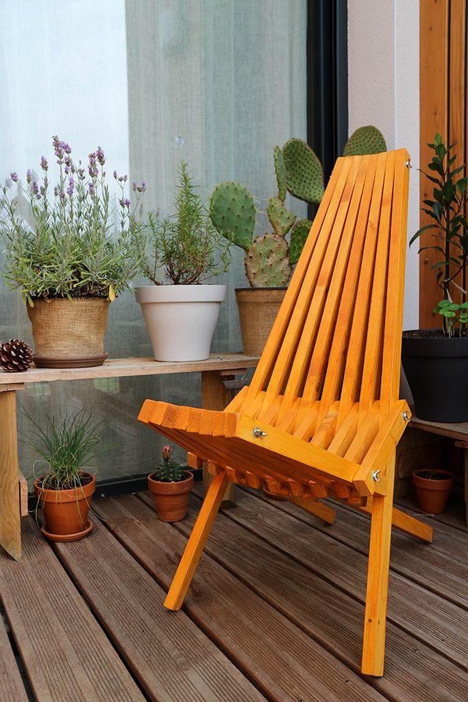 Fabriquer une chaise pliante Kentucky avec des tasseaux de pin
