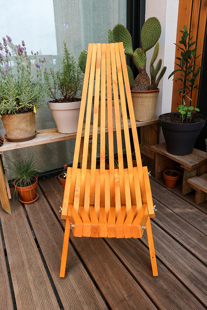 fabriquer chaise interesting fabriquer un fauteuil en palette meilleur fauteuil de jardin bois. Black Bedroom Furniture Sets. Home Design Ideas