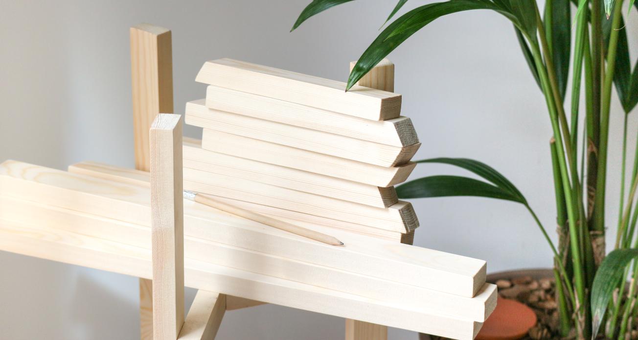 DIY-Fabriquer-support porte plante-bois-m comme mademoiselle-6